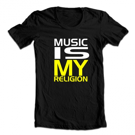 My religion — music